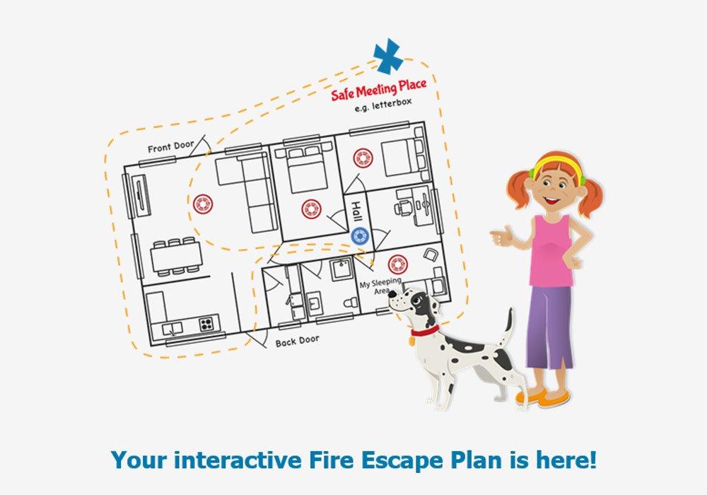 Your fire escape plan